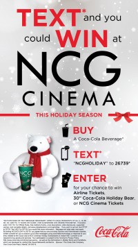Text to Win at NCG Cinema