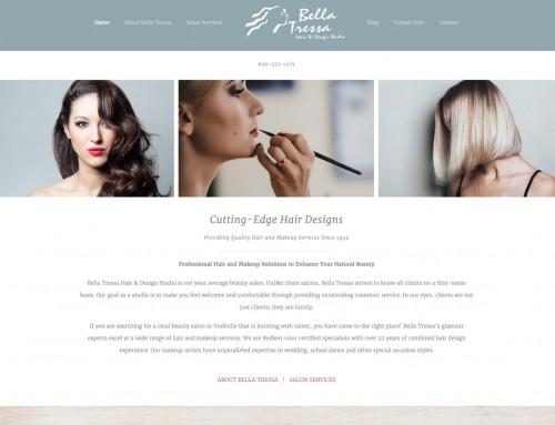 Bella Tressa Website Design