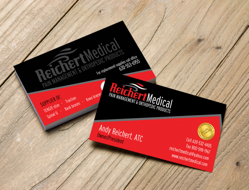 Reichert Medical Business Cards