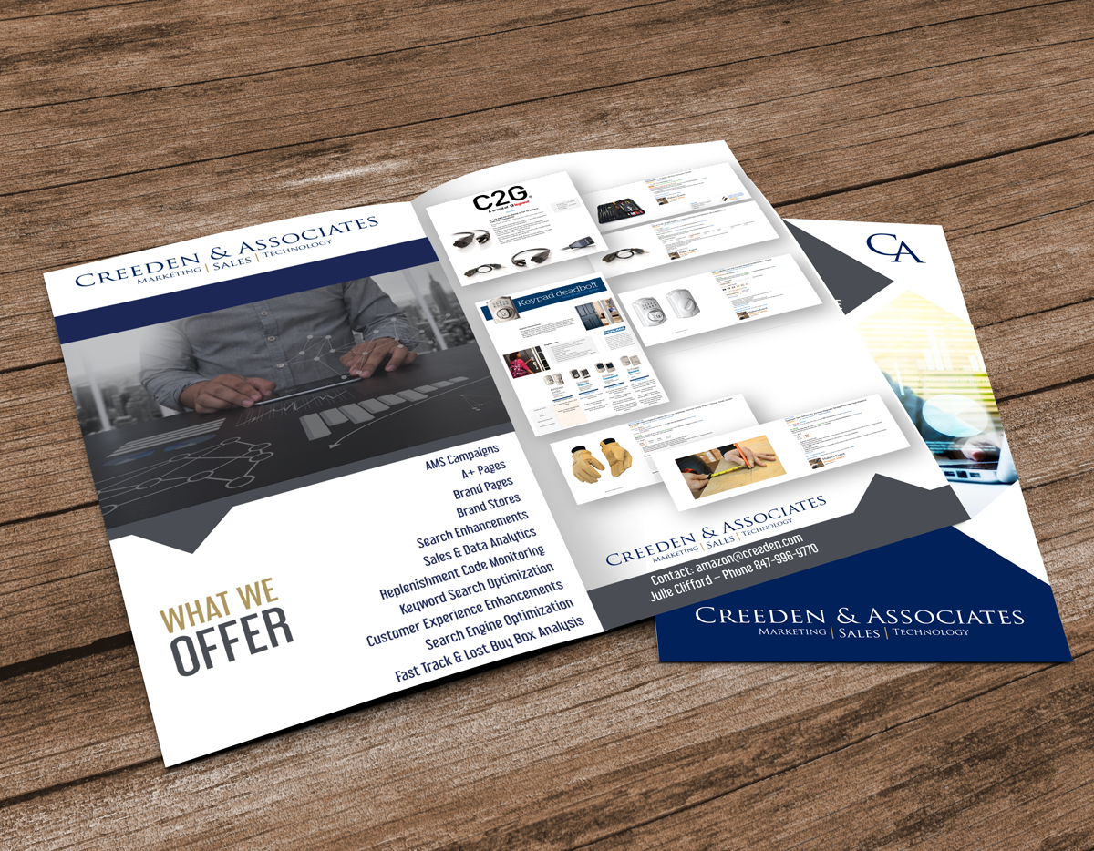 Creeden & Associates Brochure Design