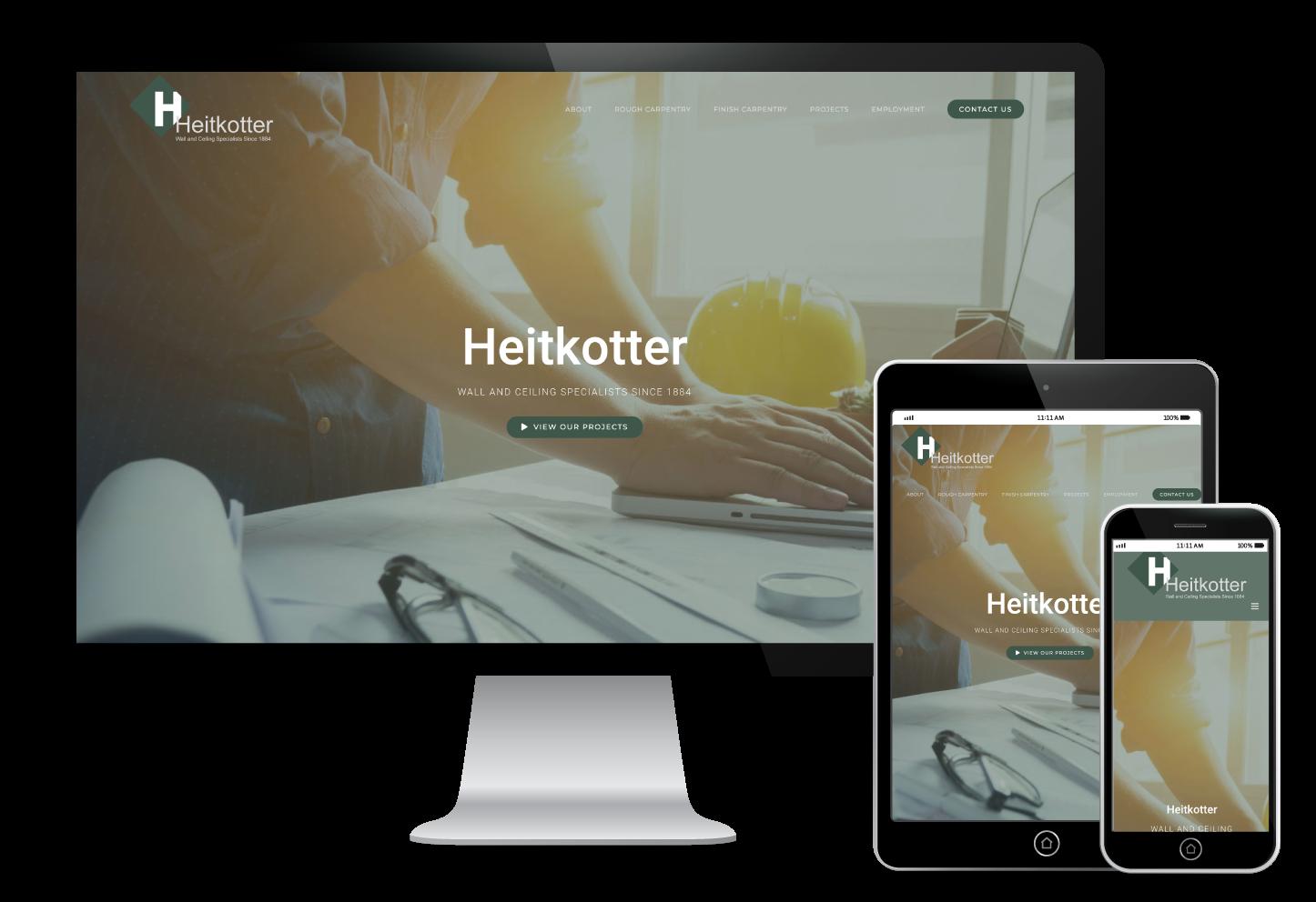 Heitkotter Website Design