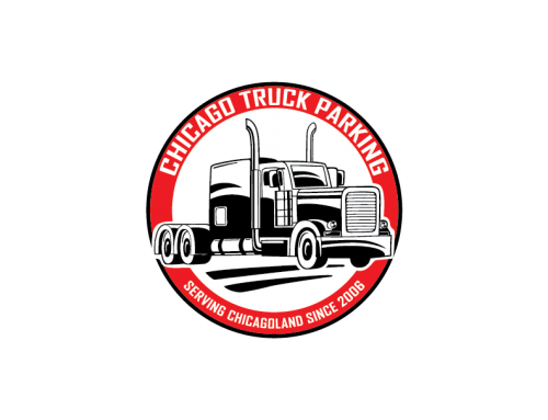 Chicago Truck Parking Logo Design