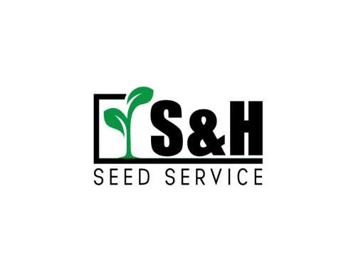 S&H Seed Service Logo Design