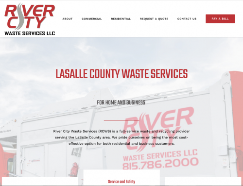River City Waste Services Website Design