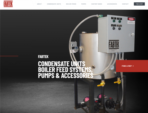 Fabtek Website Design