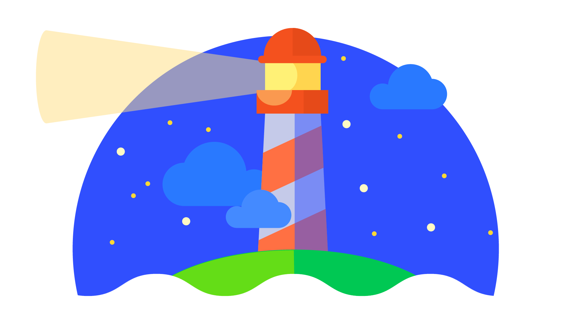 Google Lighthouse Logo